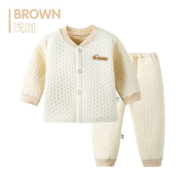 Animal New 2 pieces Set Cotton Autumn Winter Baby Clothing Set Bebes