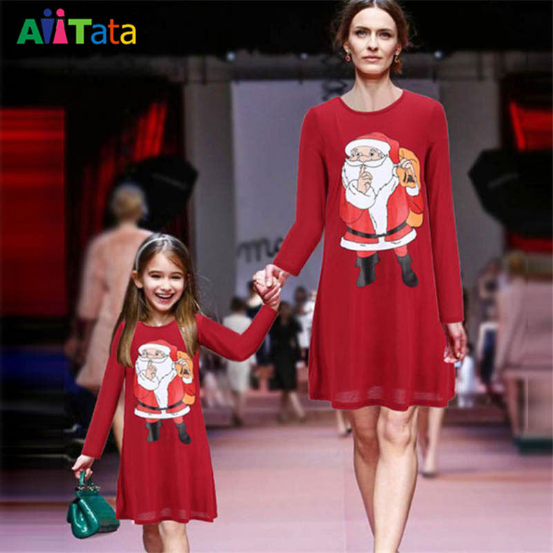mother daughter dresses kids christmas outfits girls 2017 ropa family acb3a0e0f0df
