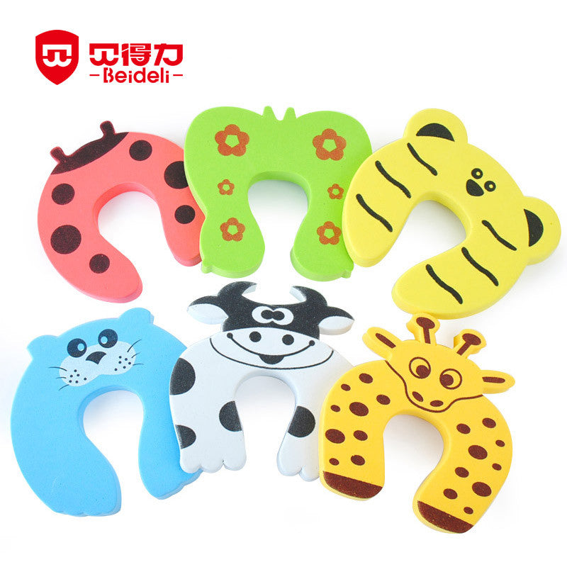 Baby Animal Cartoon Corner Guards Jammers Stop Door Stopper Finger