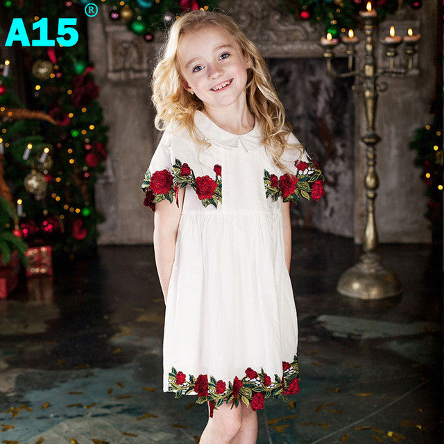 A15 Kids Clothes Girls Dress Summer 2017 Toddler Girl Clothing