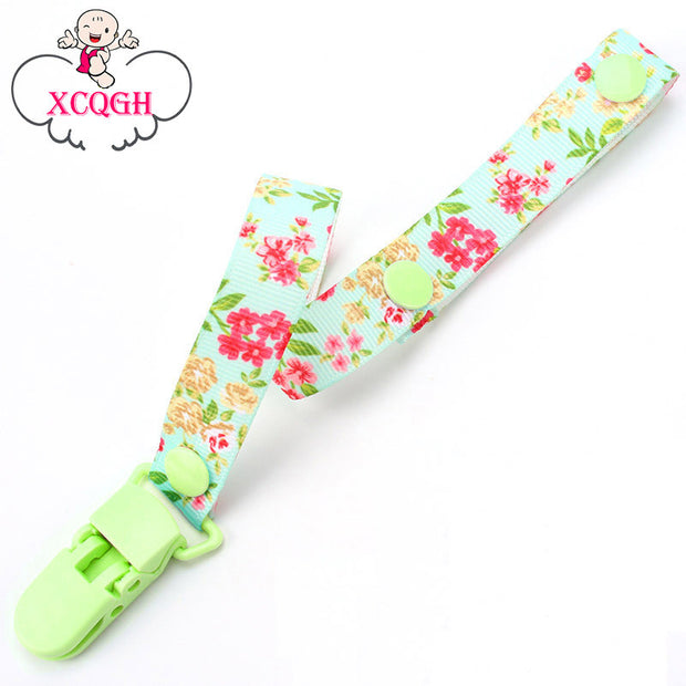 Baby Pacifier Clip Chain Ribbon Dummy Holder Chupetas Soother Pacifier