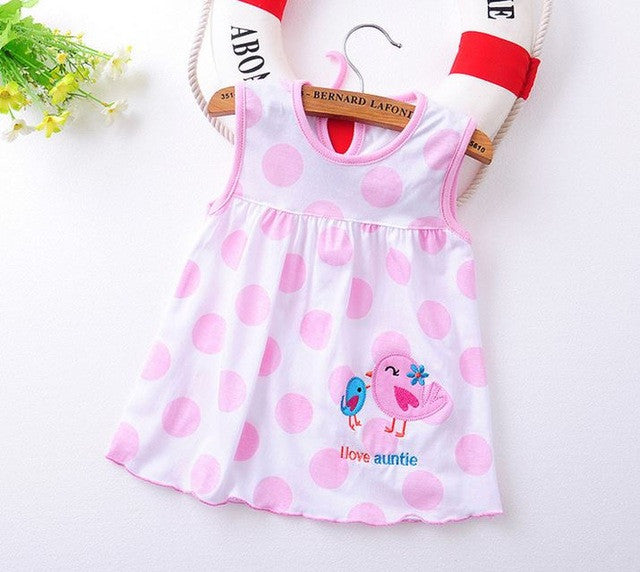 Baby Dress Top Quality  2017 baby girls dress Princess 0-2years