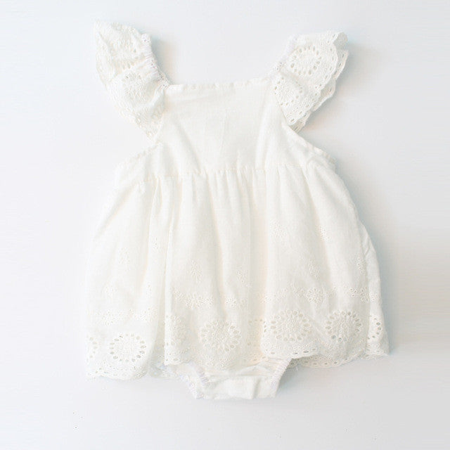 Baby Clothing Summer Newborn Designer Baby Clothes Girls Lace Dress