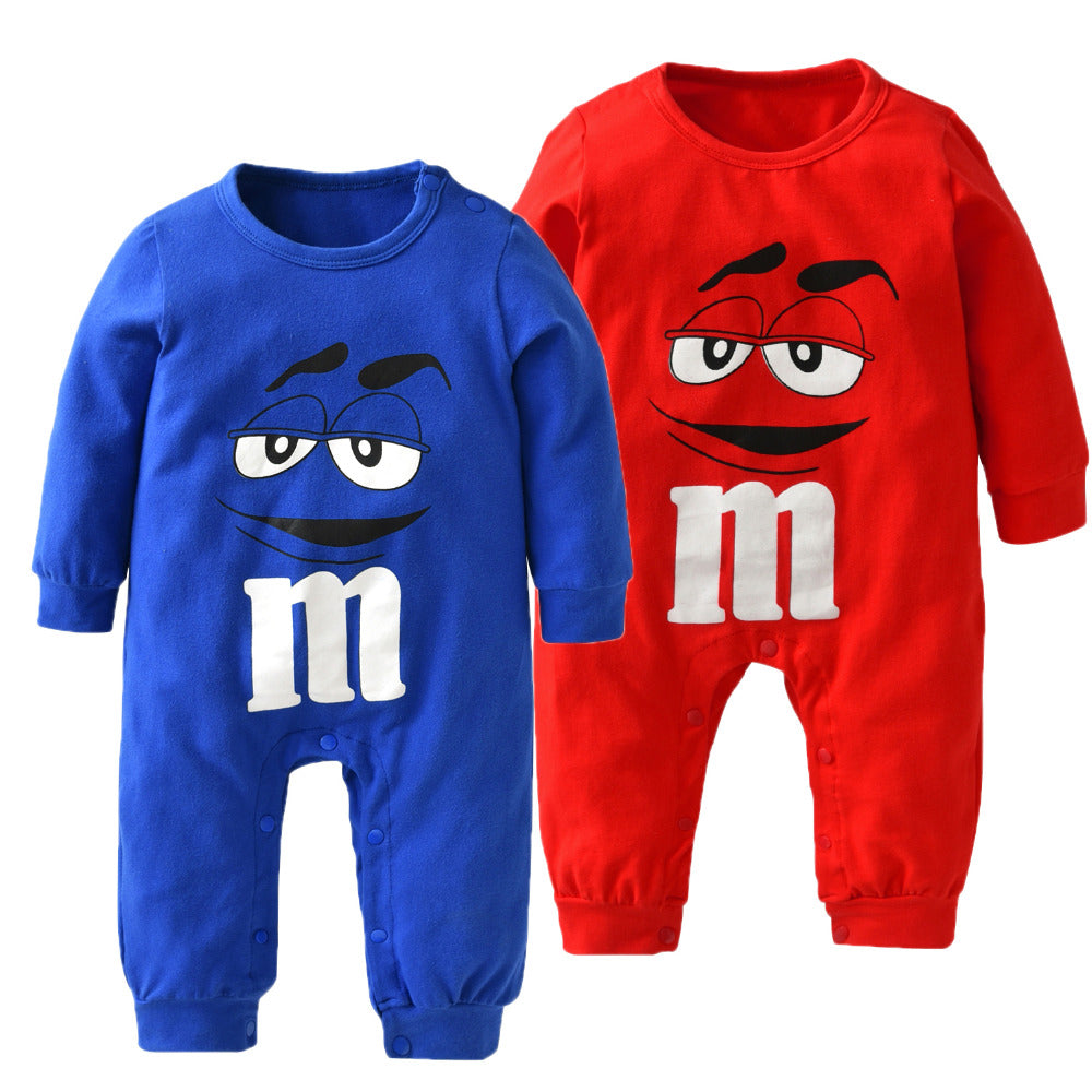 New 2017 Autumn Baby Boy Girl Clothes Newborn 100%Cotton Blue and