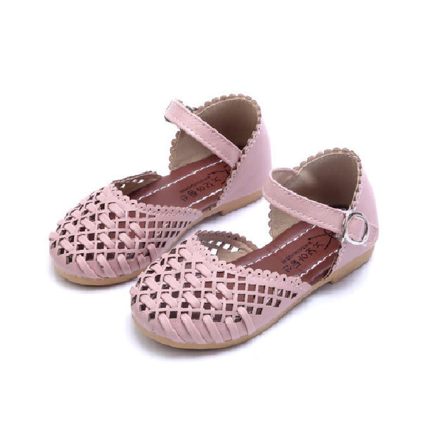 Children Shoes Girls Sandals 2017 Spring Summer Fashion Cutout