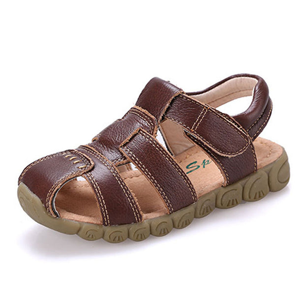 KALUPAO Childrens Shoes Boys Beach Sandal High Quality Summer