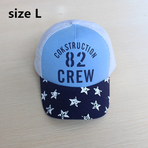 d134522b6a9 baby   kids boy girl unisex cool letter print star baseball cap ...