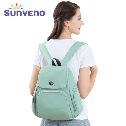 Sunveno Fashion Mummy Maternity Diaper Backpack Nappy Bag