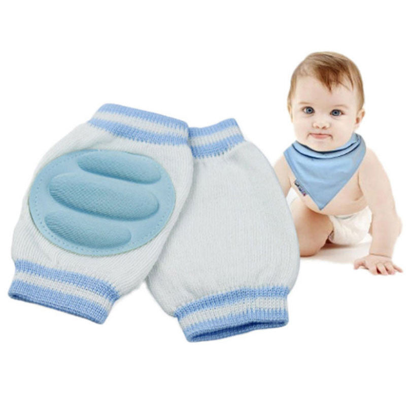 Baby Leg Warmers Pads Cotton Baby Greave Safety Crawling Elbow Cushion