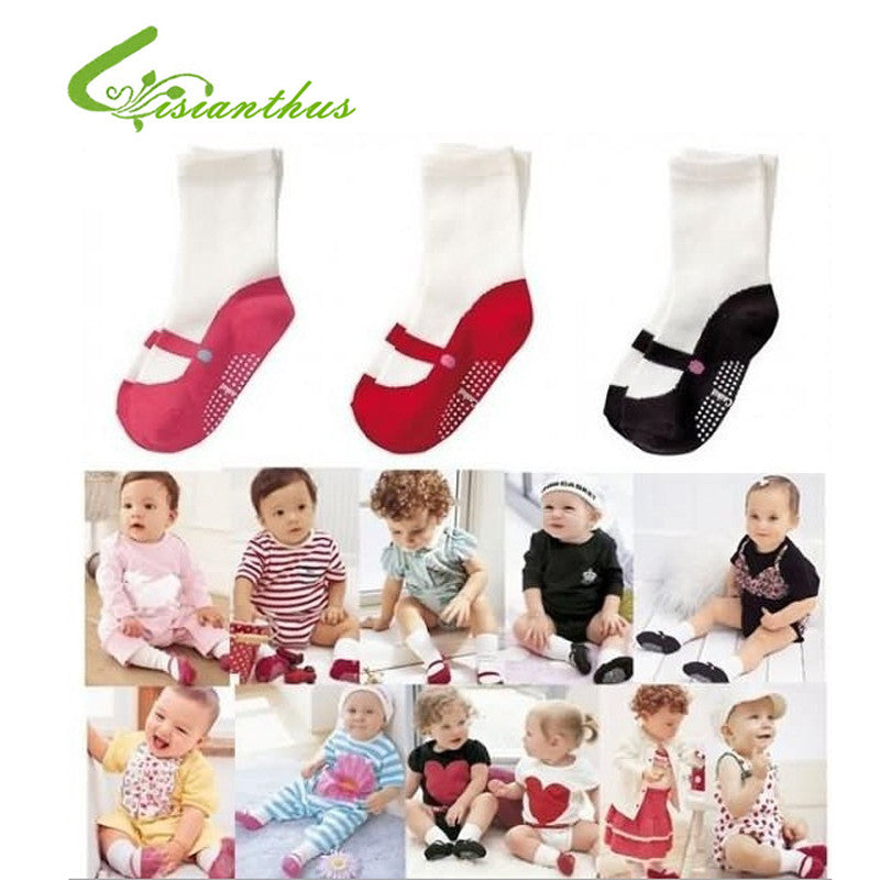 COMBI mini Anti-slip 3 pairs/ lot Free Shipping 100% New 3 colors Baby