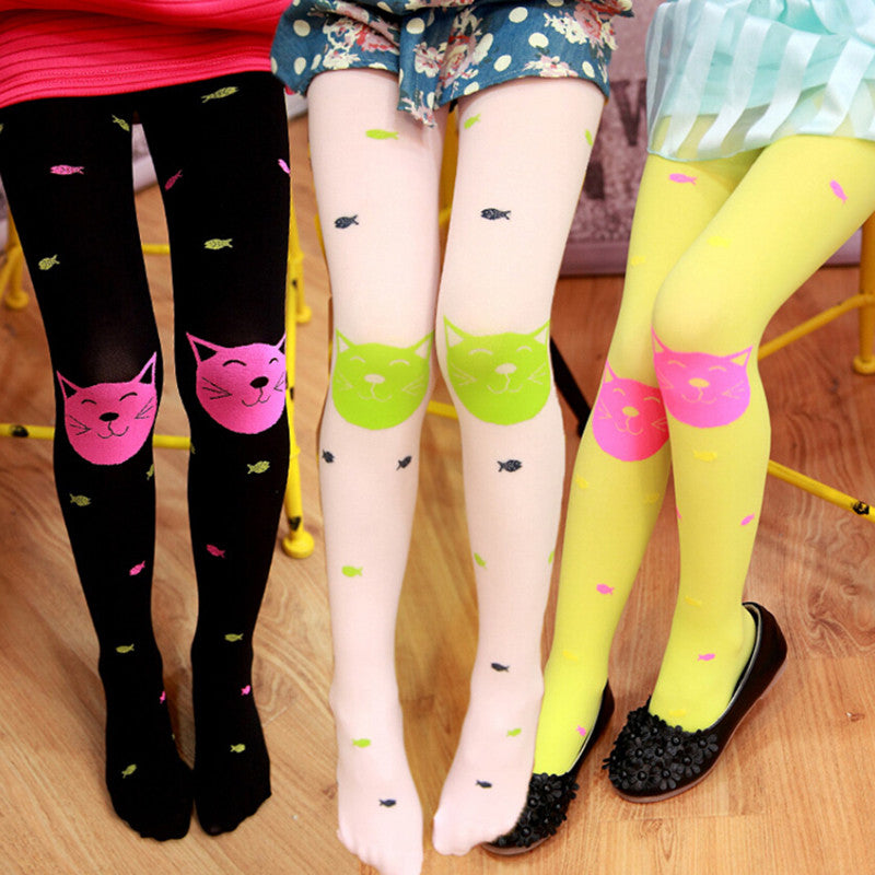 Autumn New High Quality children girls tights  Velvet candy colors