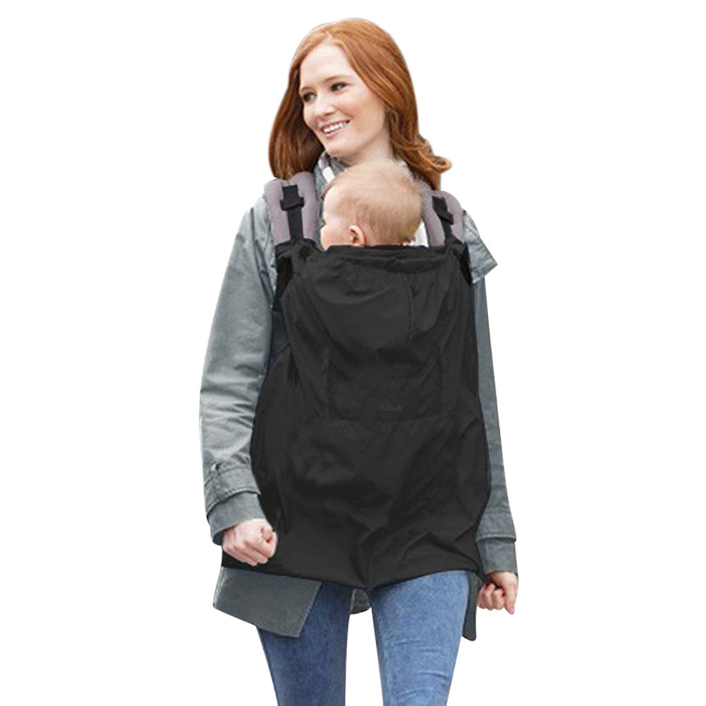 Baby Carrier Cloak Mantle Cover Baby Windproof Suspender Waterproof