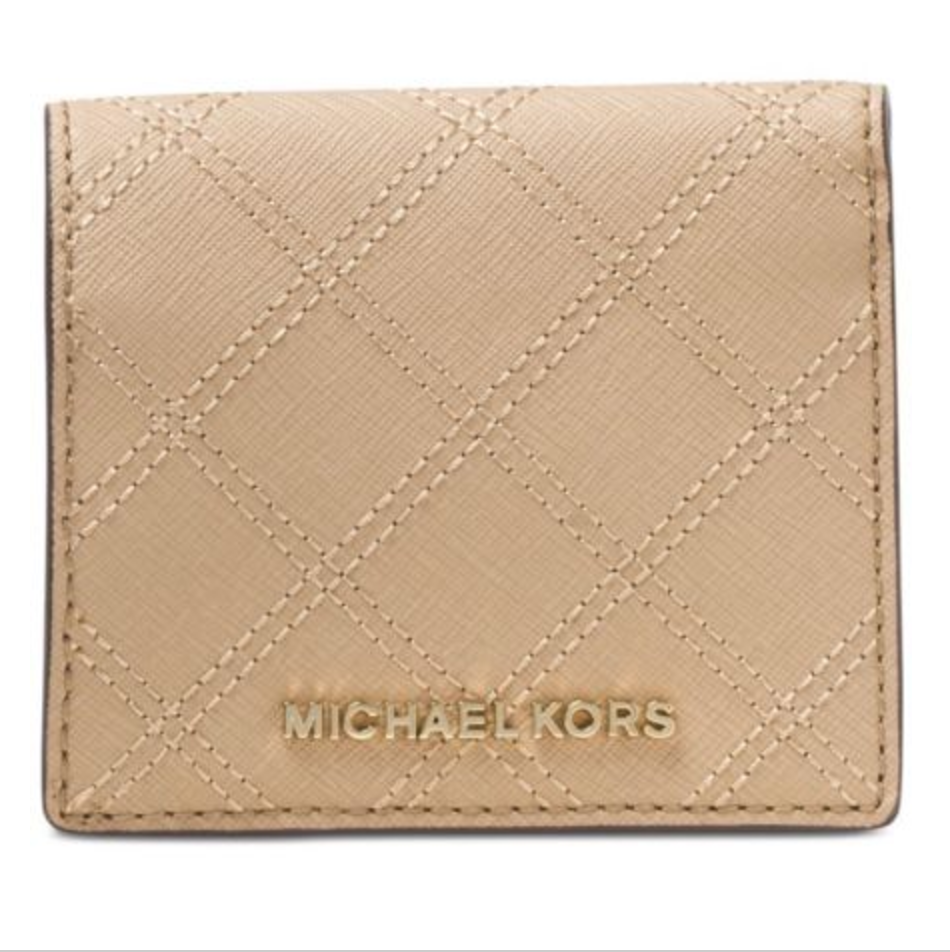 ... Michael Kors Carry All Wallet Keychain Bo Bisque ...