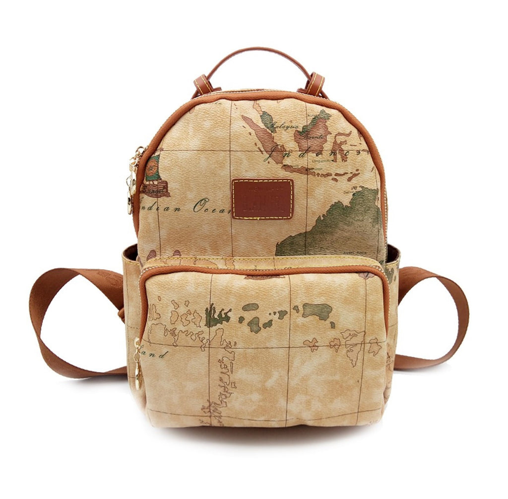 Retro world map travel backpack trulydeals retro world map travel backpack gumiabroncs Gallery
