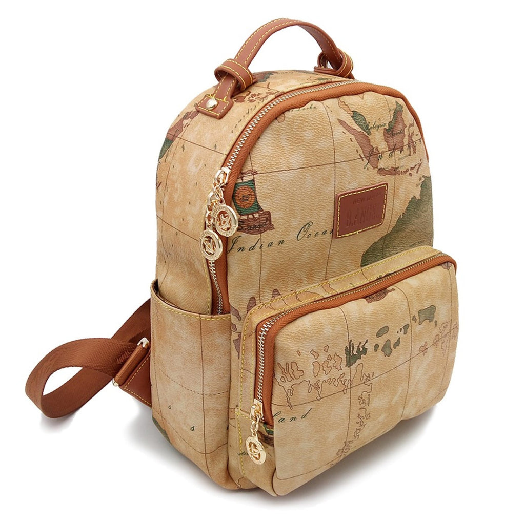 Retro world map travel backpack trulydeals retro world map travel backpack gumiabroncs Images
