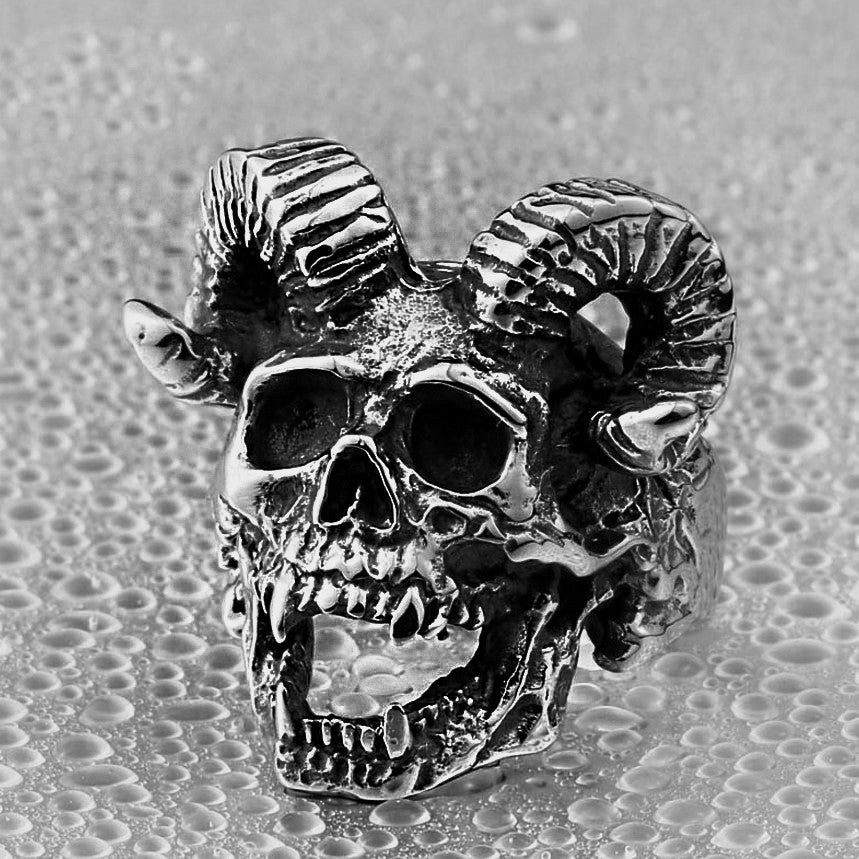 'Hellion' Stainless Steel Ring
