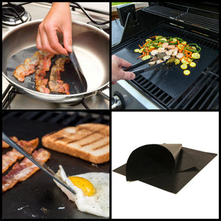 No Stick BBQ Sheets - (BBQ, Oven, Stove Top)
