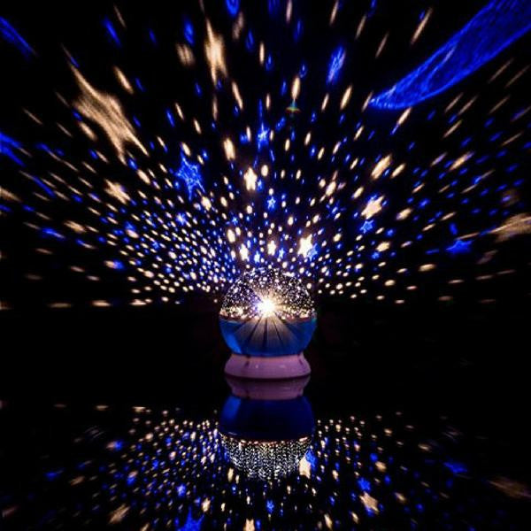 Rotating Night Light Star Projector