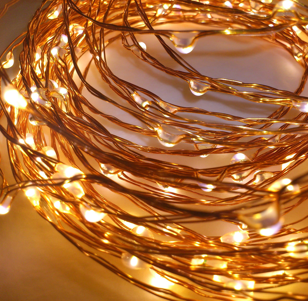 Copper LED String Lights (WATERPROOF)