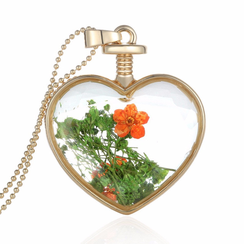 Handmade Real Flower Necklaces