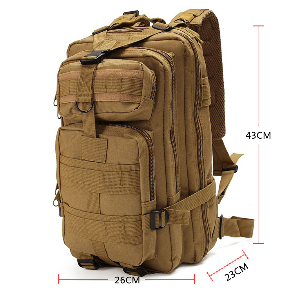 30L Waterproof Tactical Backpack - (Hunting, Fishing, Sport, Travel)