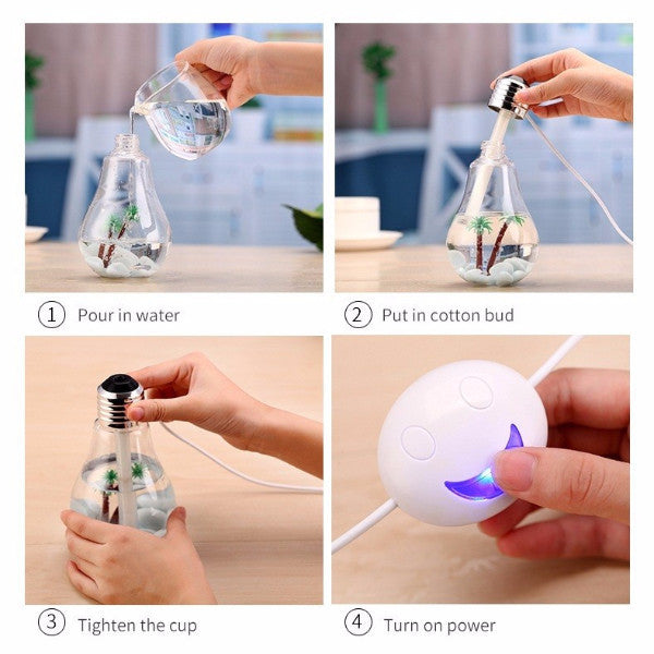 """Palm Trees"" USB Diffuser/Humidifier"
