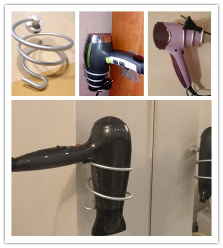 Hair Dryer Rack