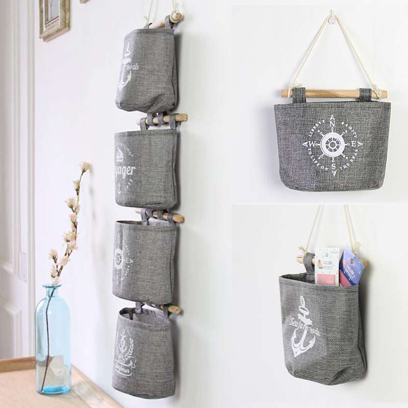 4Pc Hanging Tote Bag