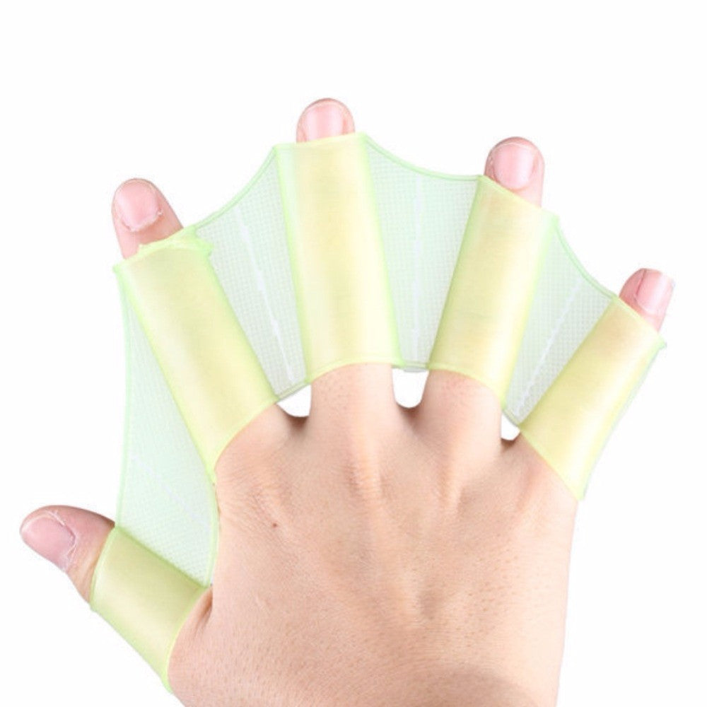 Swimming gloves - Webbed Hand Silicone