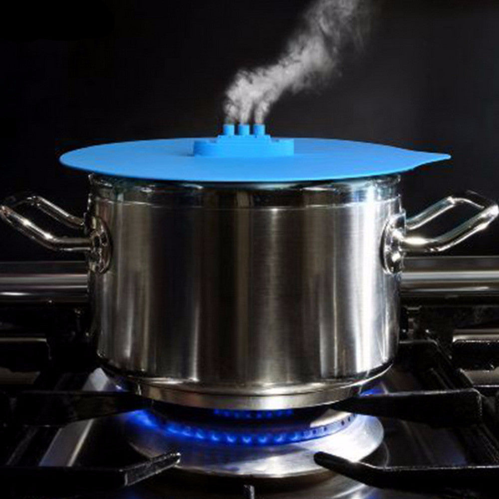 Steam Ship Silicone Lid - Microwave/Stovetop