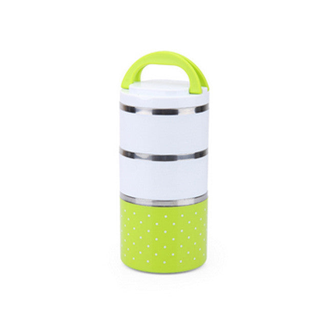 Stackable Insulated Thermal Lunch Box