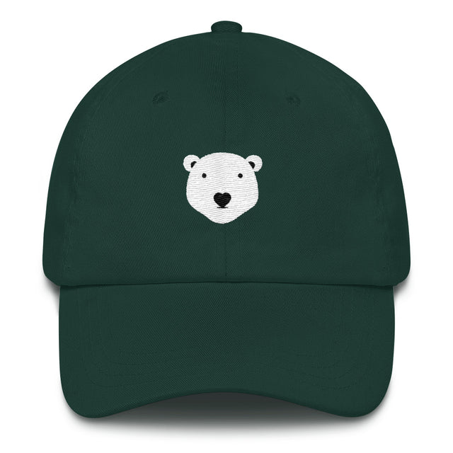Polar Couture Cap - Signature Forest Green - Save Polar Bears