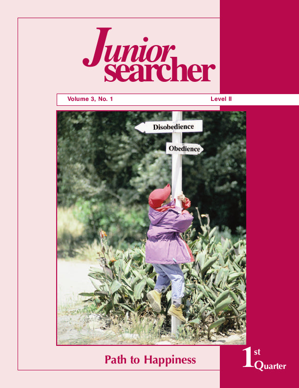 Junior Searcher, Vol. 3, #1