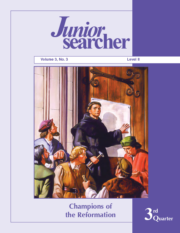 Junior Searcher, Vol. 3, #3