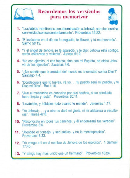 Spanish: Children's Treasures, Vol. 1, #4