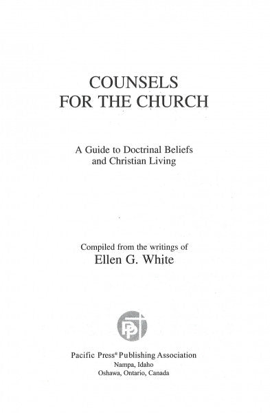 Counsels for the Church, CHL