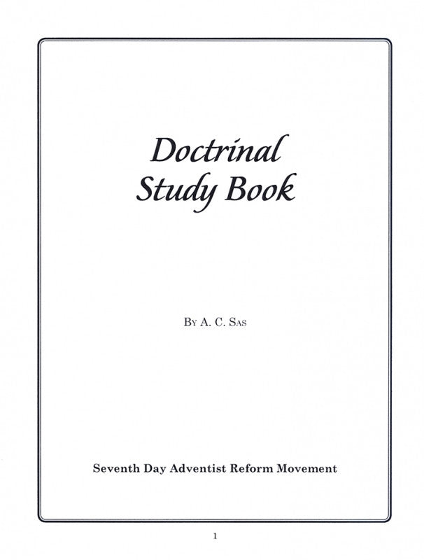 Doctrinal Study Book