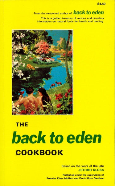 Back to Eden, Cookbook