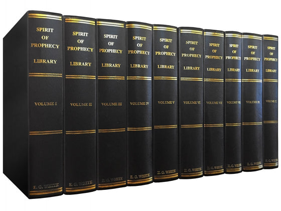Spirit of Prophecy Library 10 Vol. Set, Standard Binding
