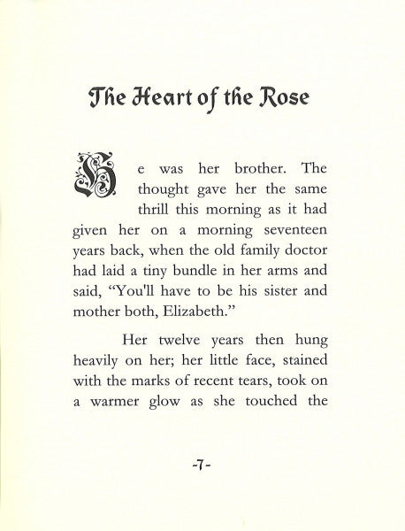 The Heart of the Rose - A story of purity