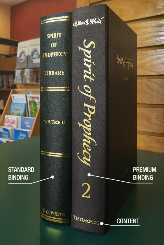 Spirit of Prophecy Library 10 Vol. Set, Premium Binding