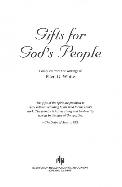 Gifts for God's People