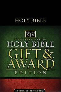 Bible: KJV, Nelson, Gift and Award Edition