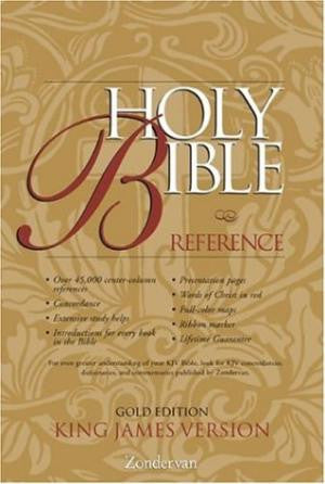 Bible: KJV, Reference, Gold Edition, by Zondervan