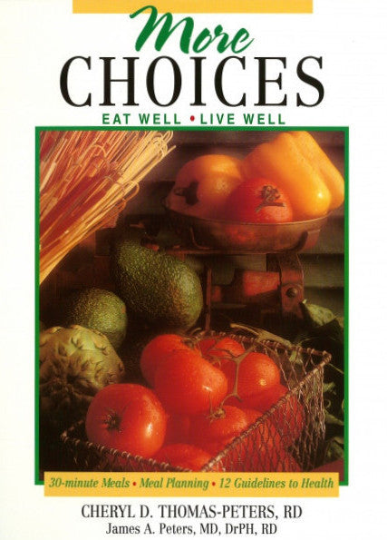 More Choices, Cookbook