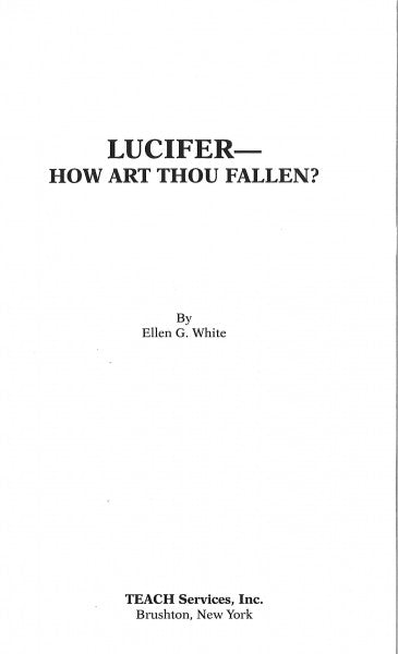 Lucifer - How Art Thou Fallen