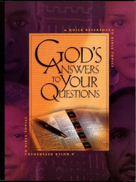 God's Answers to Your Questions
