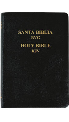 Bilingual Bible: KJV/RVG 1909, Genuine Leather