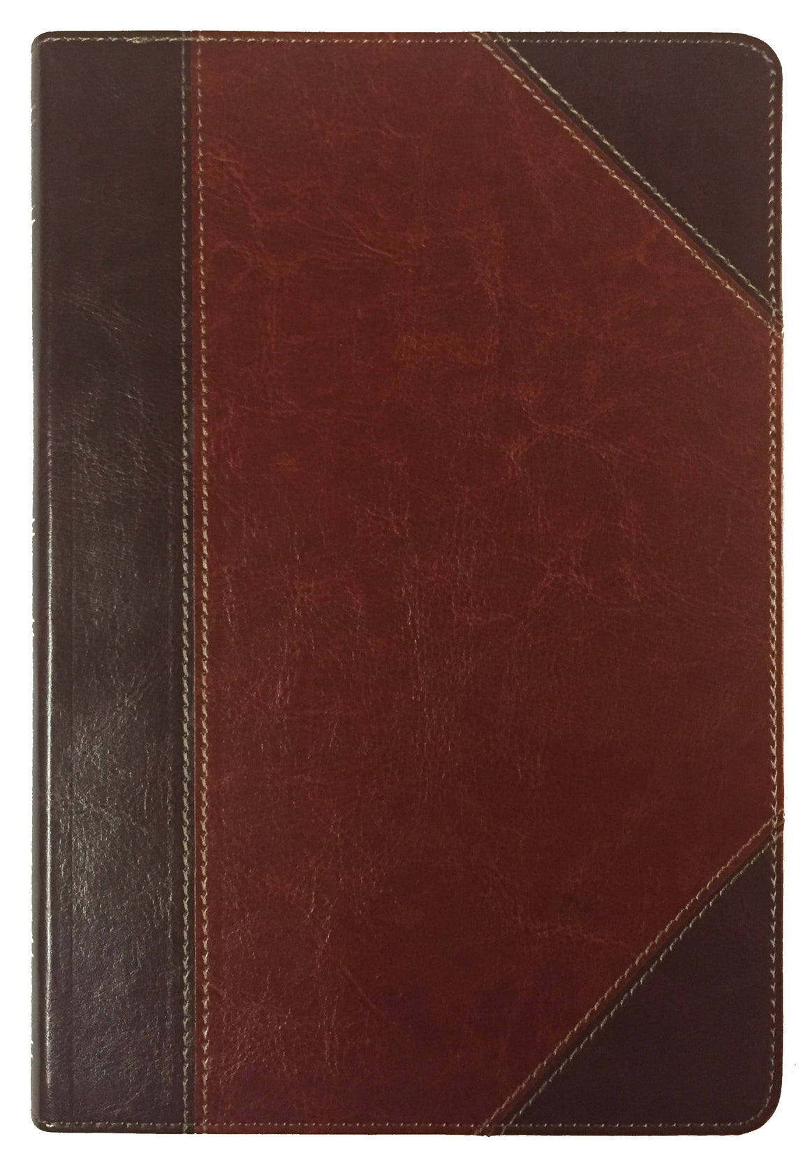 Bible: KJV, Large Print Ultrathin Reference Bible, Classic Mahogany, Indexed