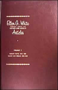 Present Truth and Review and Herald Articles by EGW, 6 books set
